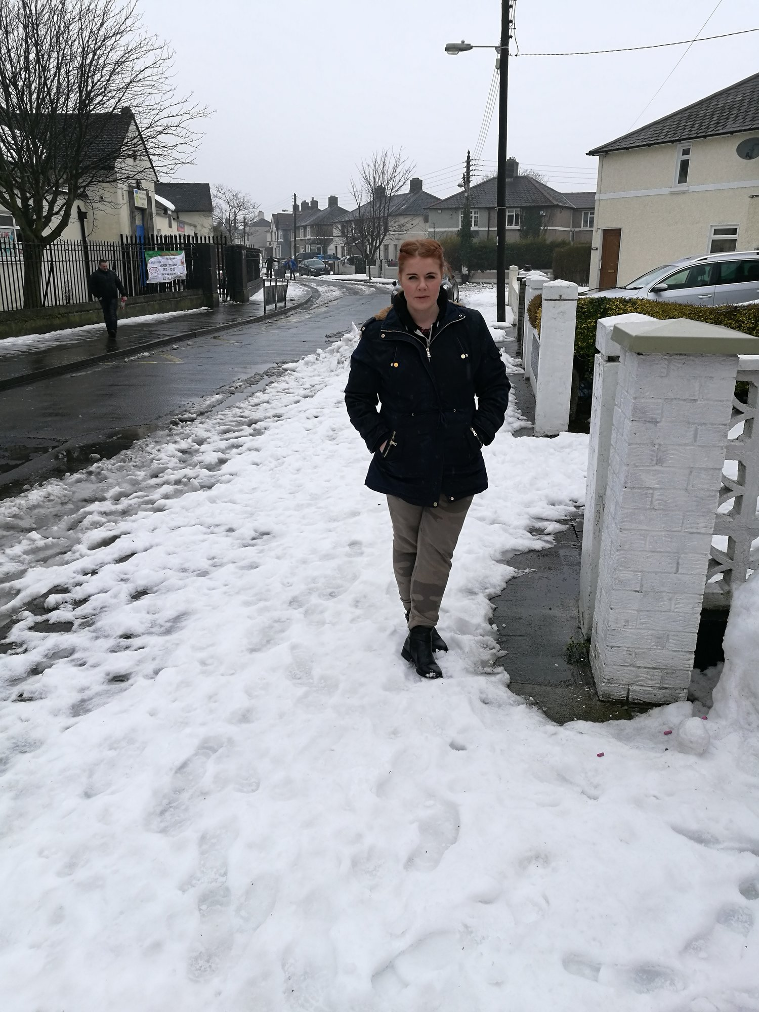 Green Party Candidate Calls for Footpath Clearance Standards after Big Snow